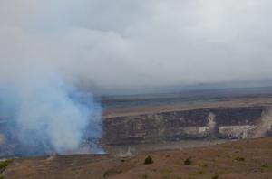 Kiluea's crater